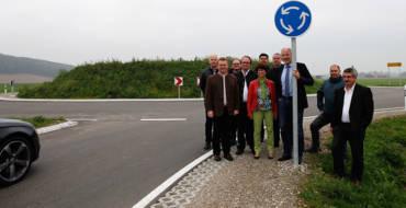 Pressemitteilung: Kreisverkehr sorgt für mehr Sicherheit