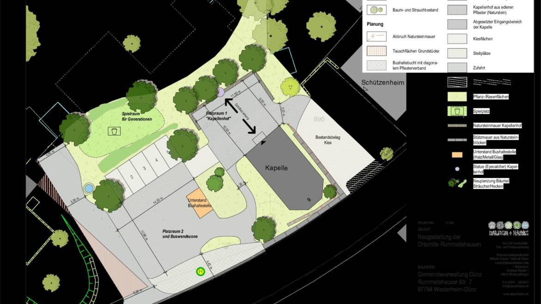 """Dorferneuerung – Einladung zur Projektgruppe """"Kapellenplatz"""" in Rummeltshausen"""
