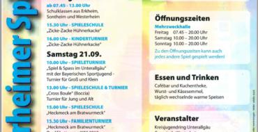 6. Westerheimer Spieletage