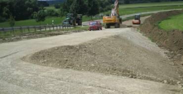 Radweg zwischen Westerheim u. Günz