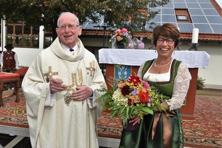 Kirche und Gemeinde sagen Danke